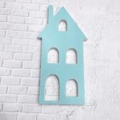 Основа, планшет Дом большой для заливки и рисования, пластик толщина 10 мм