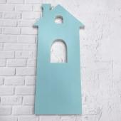 Основа, планшет Дом высокий для заливки и рисования, пластик толщина 10 мм
