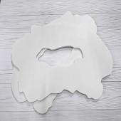Основа срез камня Giode 15x20 см для заливки и рисования, пластик 10 мм
