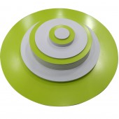 Основа круглая 30 см для заливки и рисования, пластик 10 мм