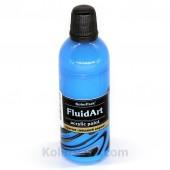 Краска для Fluid Art голубая