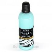Краска для Fluid Art бирюзовая