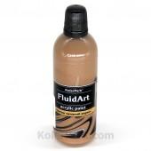 Краска для Fluid Art коричневая