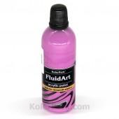 Краска для Fluid Art cиреневая