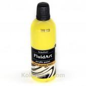 Краска для Fluid Art жёлтая