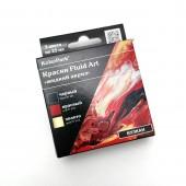 Набор красок для Fluid Art Вулкан