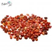 Агат красный фракция 5-15 мм, 100 гр