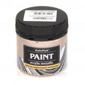 Краска акриловая металлик 150 мл, Кремовый жемчуг