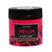 Краска акриловая флуоресцентная NEON 150 мл, Розовая