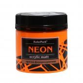 Краска акриловая флуоресцентная NEON 150 мл, Оранжевая