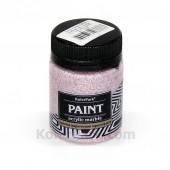 Краска акриловая мраморная 50 мл, Розовый кварц