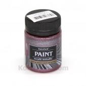 Краска акриловая металлик, 50 мл, Аметист
