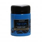 Краска акриловая флуоресцентная NEON 50 мл, Синяя