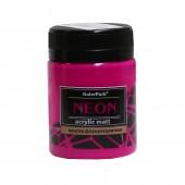 Краска акриловая флуоресцентная NEON 50 мл, Фиолетовая