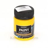Краска акриловая темперная 50 мл, Золотисто-жёлтая